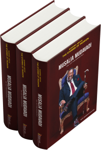 Soaring Above the storms of Passion - Musalia Mudavadi Book